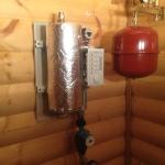 Установка электрического отопления