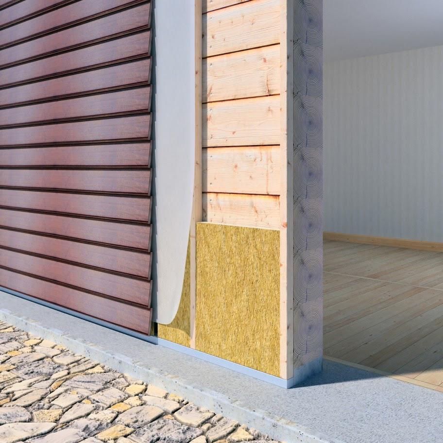 Материалы и технология утепление внешних стен деревянного дома