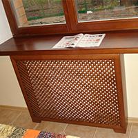 Виды декоративных решеток на радиаторы отопления: варианты использования в интерьере