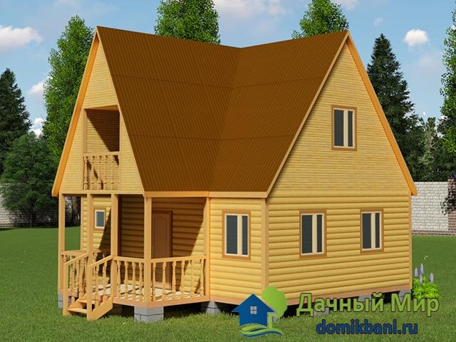Дом 8=8 с балконом, цена, проект электрическое отопление дом.