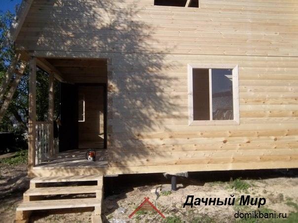 Дома из бруса в Видном - проекты и цены