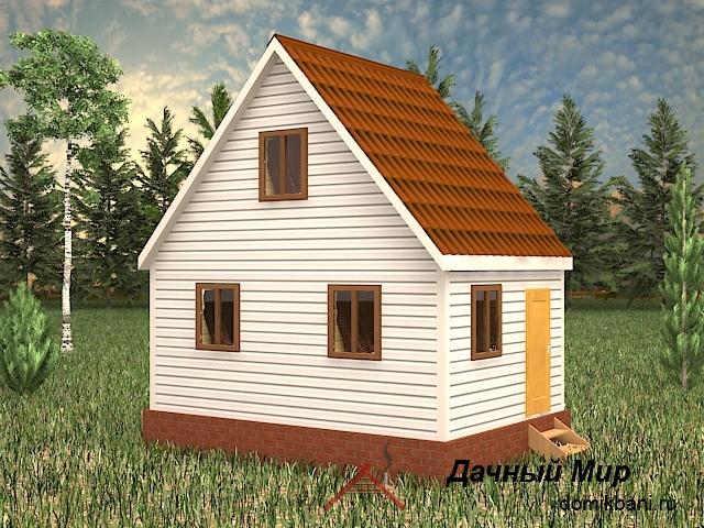 Каркасный дом 6x4