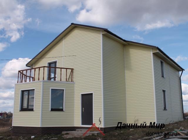 Каркасный дом в Калуге - фотографии построенного дома