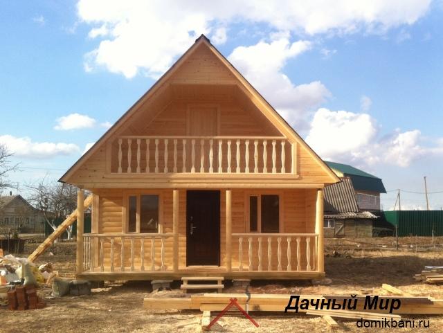 Орехово-Зуево - строим дома из бруса и бани под ключ
