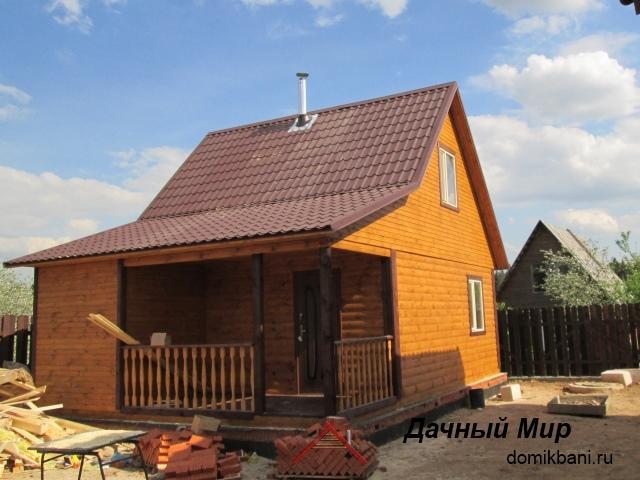 Строительство бань из бруса в Череповце и районе, фотографии построенных бань
