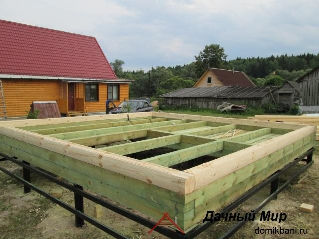 Строительство дачных бань, проекты, цены, фотографии