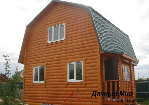 Строительство дачных домов из бруса в Ногинске и области