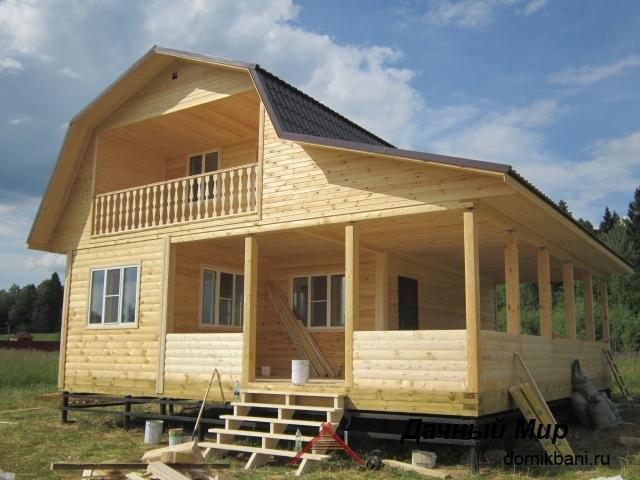 Строительство деревянных домов в Озерках и районе