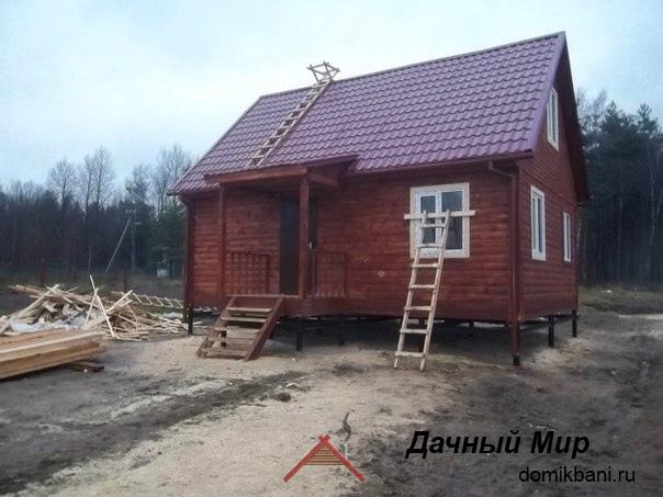 Строительство дома из бруса в Домодедово (Московская область)