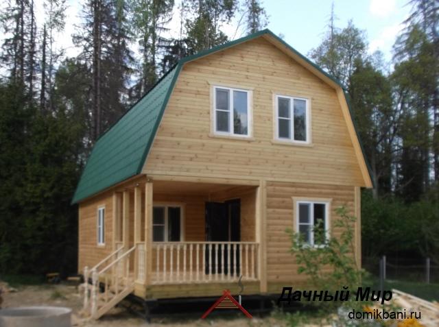 Строительство дома из бруса в Вологде