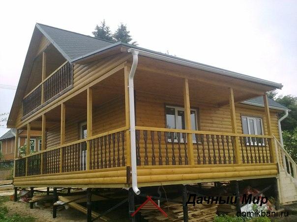 Строительство домов из бруса в Иваново, проекты и цены