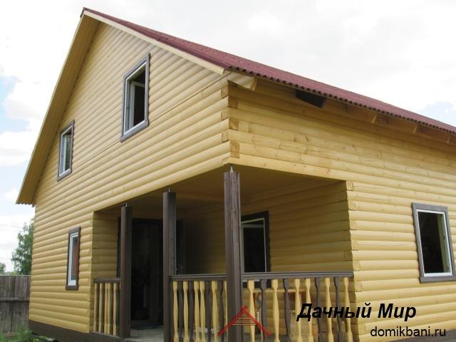 Строительство домов из бруса в Костроме, фотографии дома, проекты и цены