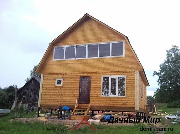 Строительство домов из бруса в Павлово-Посадском районе