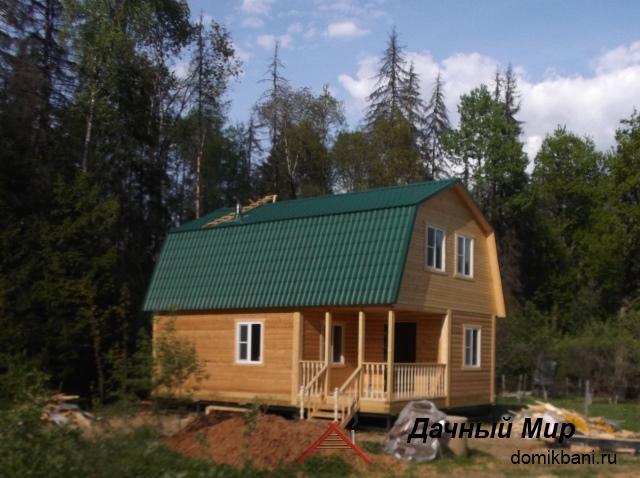 Строительство домов из бруса в Рязане и области, проекты и цены в Рязане