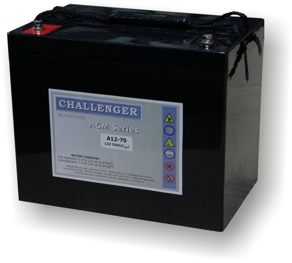 Аккумулятор Challenger A12-65