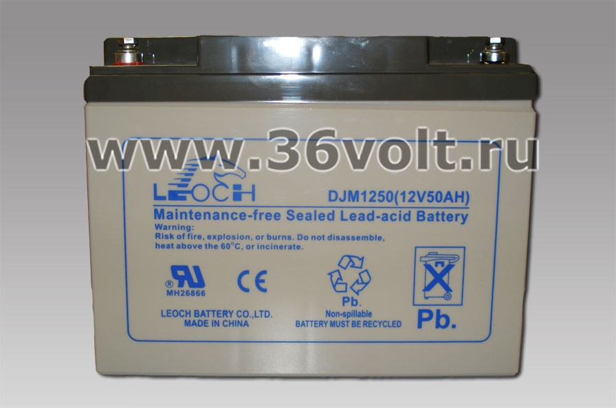 Аккумулятор Leoch DJM 12-50