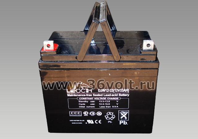 Аккумулятор Leoch DJW 12-33