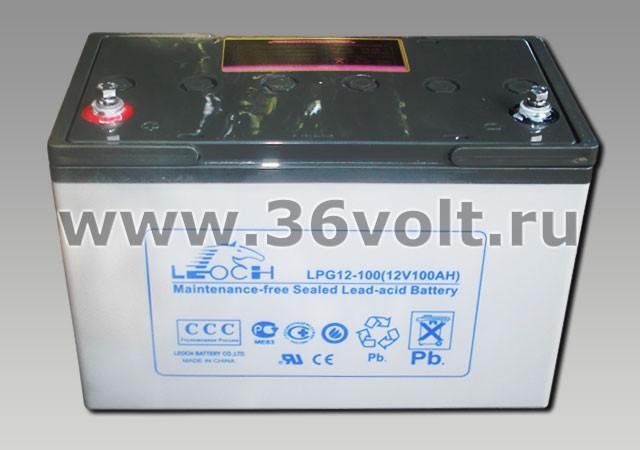 Аккумулятор Leoch LPG 12-100
