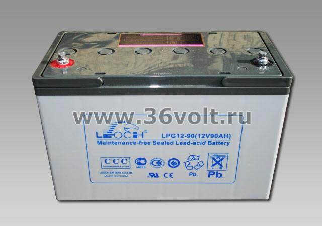 Аккумулятор Leoch LPG 12-90