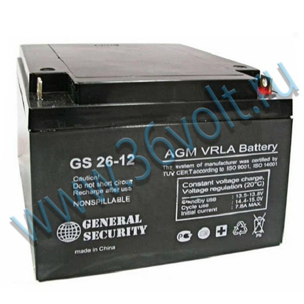 General Security GS 26-12