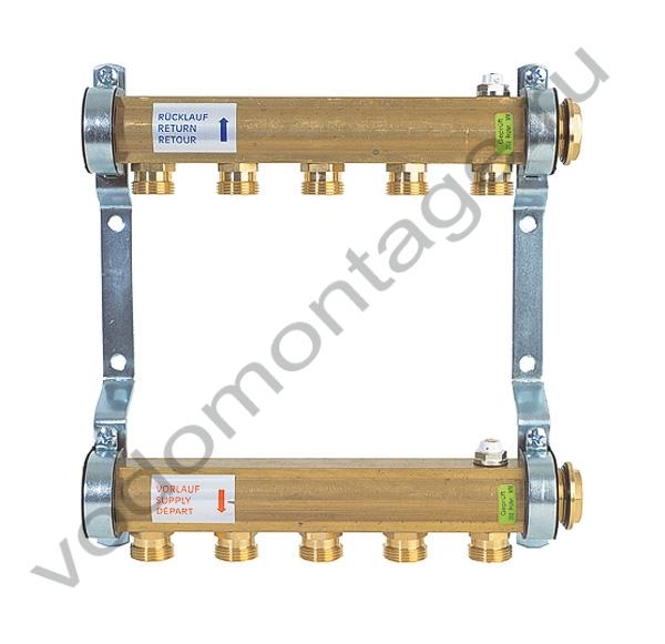 Коллектор для отопления Watts HKV/A-2 - купить по низкой цене в Москве. Оборудование для отопления в наличии, скидки на монтаж и установку. Фото, описание, характеристики, стоимость, подбор и доставка оборудования
