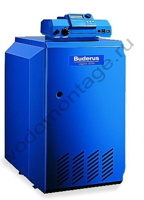 Котел газовый напольный Buderus Logano G124-32 WS - купить по низкой цене в Москве. Оборудование для отопления в наличии, скидки на монтаж и установку. Фото, описание, характеристики, стоимость, подбор и доставка оборудования