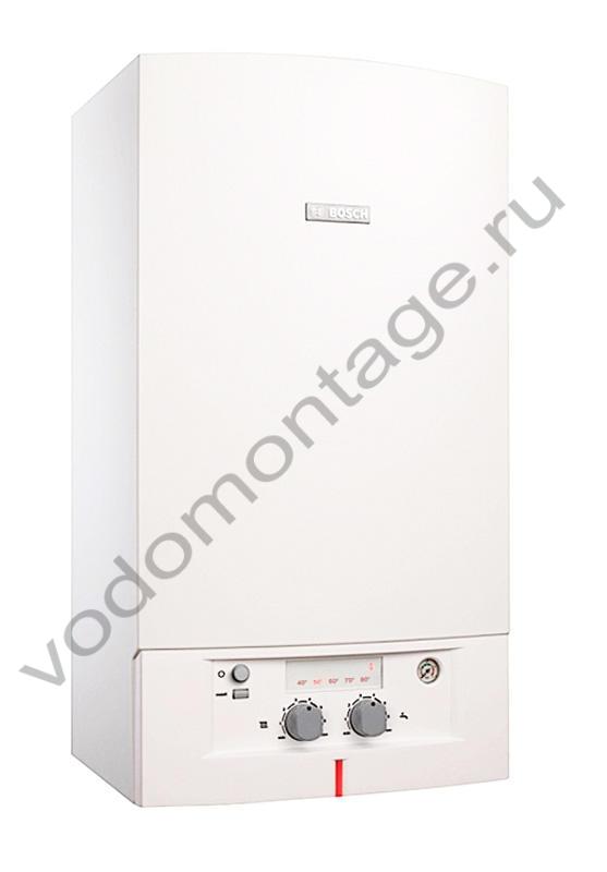 Котел газовый настенный Bosch Gaz 4000 W ZWA 24-2 K - купить по низкой цене в Москве. Оборудование для отопления в наличии, скидки на монтаж и установку. Фото, описание, характеристики, стоимость, подбор и доставка оборудования