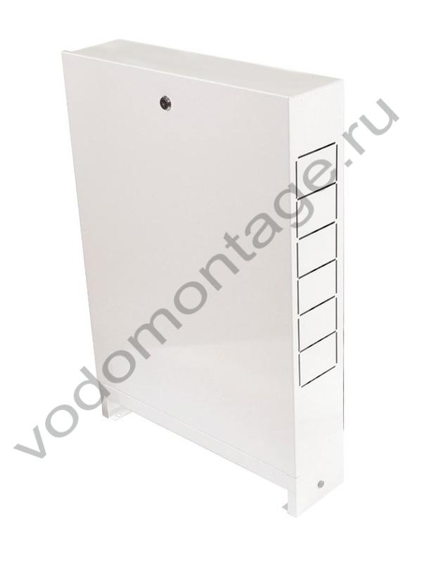 Шкаф распределительный наружный ШРН-2 (6-7 выходов) - купить по низкой цене в Москве. Оборудование для отопления в наличии, скидки на монтаж и установку. Фото, описание, характеристики, стоимость, подбор и доставка оборудования